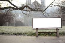 Your Face on a Bench: Marketing on Bus Stop Benches